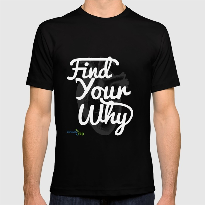 """Find Your Why"" - White Text"